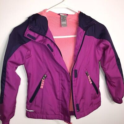 Girls Champion Jacket Size XS Long  Sleeve 4-5 Venture Dry