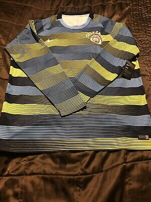 Manchester City Nike Cityzens Dri-Fit Player Issue Training Shirt - Size XXL