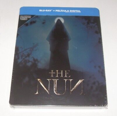 The Nun Blu-Ray Spanish Edition Steelbook Sealed New! The Conjuring Saga