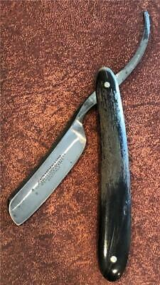 "Old Vintage Joseph Rodgers Straight Razor Monkey Tail Tang 5/8"" Blade"