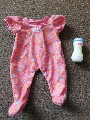 American Girl Bitty Baby Doll Outfit and 1 Bottle