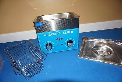 220 V New 3L Ultrasonic Cleaner Stainless Steel Industry Heated Heater Timer