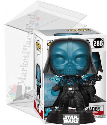 Funko POP! Star Wars - #288 Electrocuted Darth Vader - W/Protector