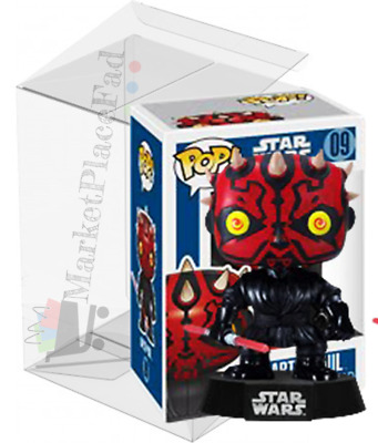 Funko POP! Star Wars - Blue Box Vault Edition - #9 Darth Maul Includes Protector