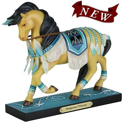 NEW IN BOX Trail of the Painted Ponies 6004260 TURQUOISE PRINCESS Horse Figurine