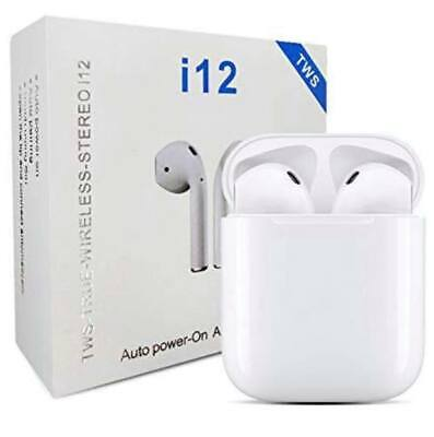 Earbuds Bluetooth Wireless Headphones Headset Earpods Iphone Androids Samsung