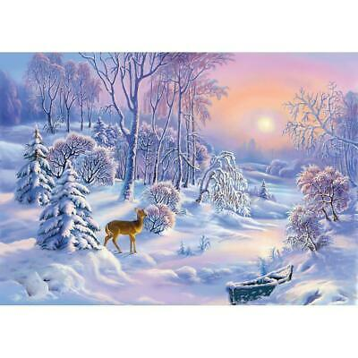 "Diamond Painting - Diamant Malerei - Stickerei - ""Winter - Vollbild"" (3131)"