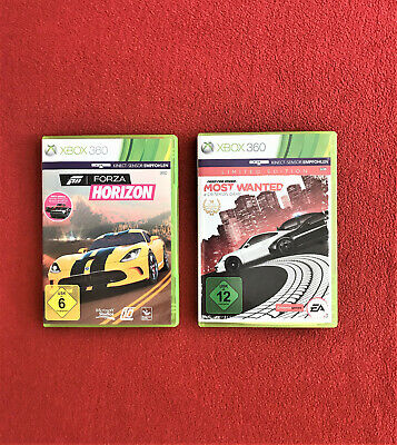Xbox-Spiele - Forza Horizon - Need for Speed Most Wanted