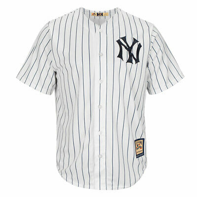 Men's New York Yankees MLB Pinstripe Home Cooperstown Cool Base Jersey