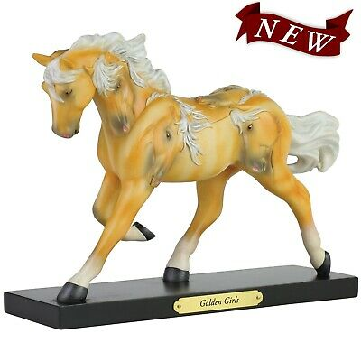 NEW IN BOX Trail of the Painted Ponies 6006150 GOLDEN GIRLS Horse Figurine