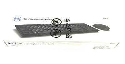 Km636 052Hy6 52Hy6 New Dell Boxed Qwerty Wireless Uk English Keyboard Mouse