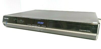 TOSHIBA HD-EP35 HD-DVD / DVD Player in black with HDMI output