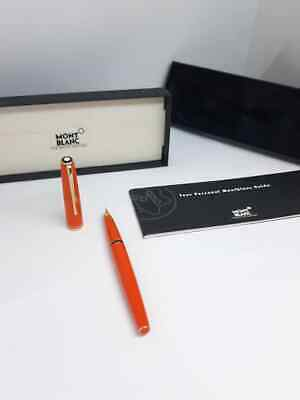 Penna Montblanc Stilografica Modello Generation Orange Arancione Introvabile !