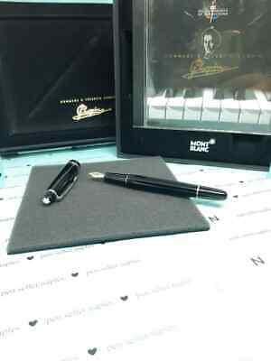 Penna Montblanc Chopin 145 Platinum Line Fountain Pen Stilografica , Pari Al New