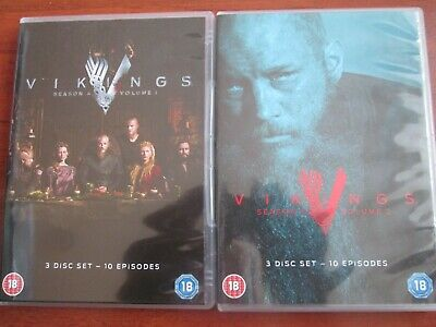 Vikings - Complete Series Season 4 (DVD SET) NEW AND SEALED REGION 2 UK ISSUE