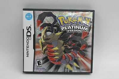 NINTENDO Pokemon Platinum Version DS Game 2009 US Complete With Manual