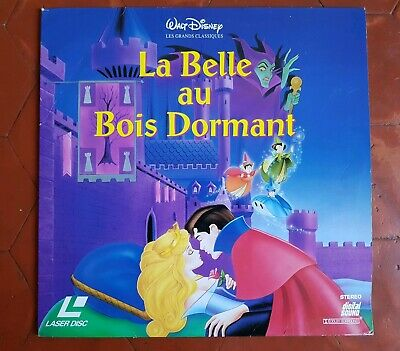 La Belle au Bois Dormant - LASERDISC Walt Disney PAL LD (no DVD bluray)