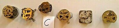Selection of small Clock Movements Lot C