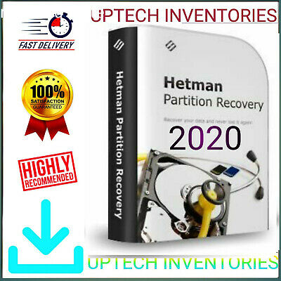 Hetman Partition Recovery✔️2019✔️ Pro Office Edition✔️Official Download ➕ Key