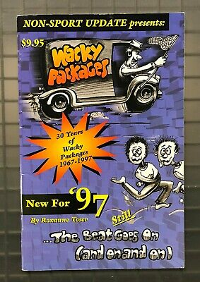 """1997 Wacky Packages Guide """" The Beat Goes On """" NM Condition Non-Sport Update"""