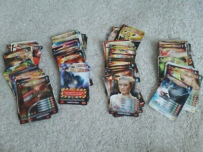 Job Lot 184 Doctor Who Battles in Time Trading Game Cards