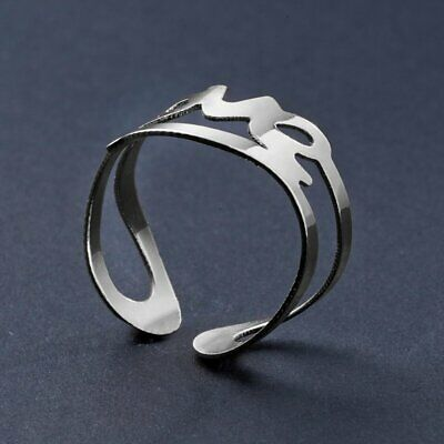 Fashion Women Open Fashion LOVE Hollow Letter Full Finger Knuckle Ring Jewelry