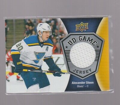 2016-17 Upper Deck Ud Game Jersey  Alexander  Steen