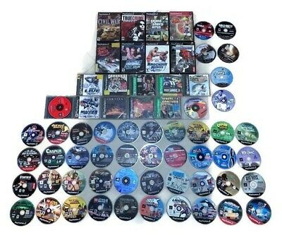 Huge Lot Of 65 Playstation Ps1 Ps2 Ps3 Ps4 Video Games - Read Description