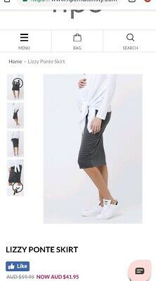 Ripe Maternity Lizzy Pencil Skirt - Size Large