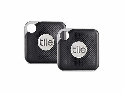 Tile Pro Bluetooth Key/Drone/Wallet Tracker w/ Replaceable Battery 2 pack - NEW