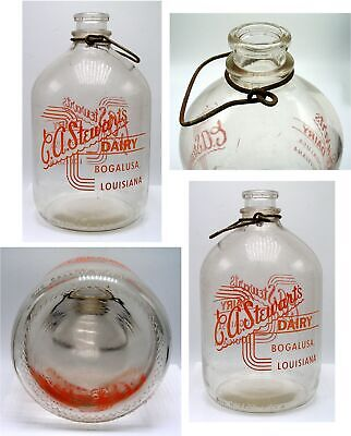Bogalusa, Louisiana Milk Bottle