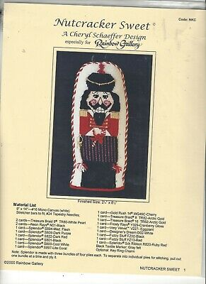 Cheryl Schaeffer Design - Nutcracker Sweet - Needlepoint Pattern