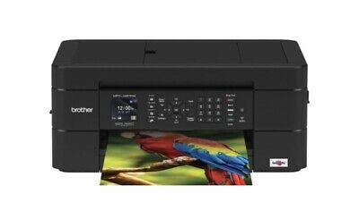 Brother - Work Smart Series MFC-J497DW Wireless All-In-One Printer