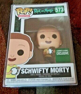 Funko Pop! Rick and Morty - Schwifty Morty 573 Barnes and Noble Exclusive w/Prot