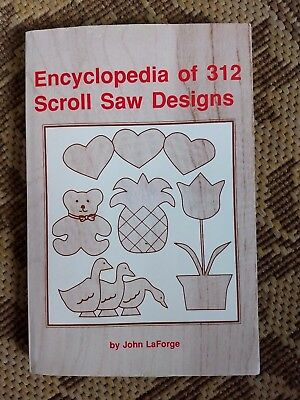encyclopedia of 312 Scroll saw designs by John LaForge patterns