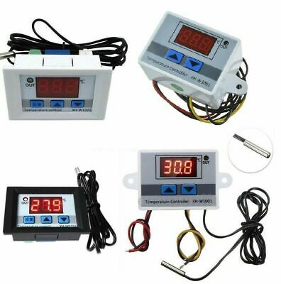 12V/220V Digital LED Temperature Controller Thermostat Control Switch with Probe