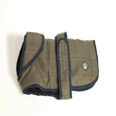 Danish Design Pet Products - Abrigo impermeable de tweed para perros (PD478)