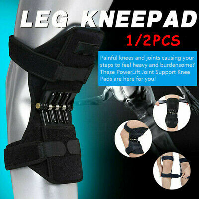 1PCS Power Knee Stabilizer Pads Powerful Rebound Spring Force Support Knee Pad