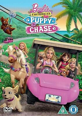 Barbie and Her Sisters in a Puppy Chase DVD.