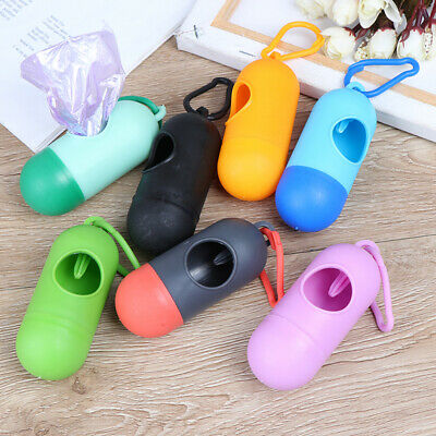 Practical Pet Dog Poop Bag Dispenser Waste Garbage Holder Dispensers Poop Trash