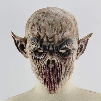 Halloween Scary Latex Mask Creepy Evil Cosplay Party Adult Mask Costume Prop New