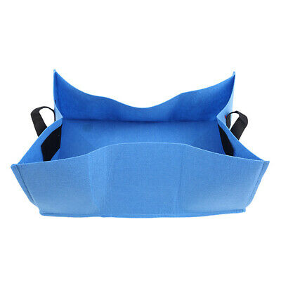Square Garden Growing Bags Planter Bag Plant Tub Container w/ Handles  BB