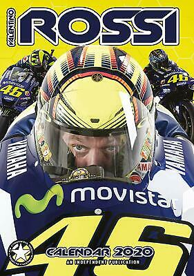 Valentino Rossi Wall Calendar 2020 - Large A3 - MotoGP Christmas Gift