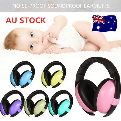 Kids Baby Adjustable Noise Cancelling Headphones Earmuffs Hearing Ear Protection