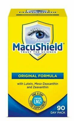 Brand New MacuShield 90 Capsules Food Supplement UK Seller Eye Vitamin & Mineral