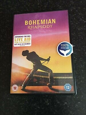 bohemian rhapsody DVD NEW unoperned