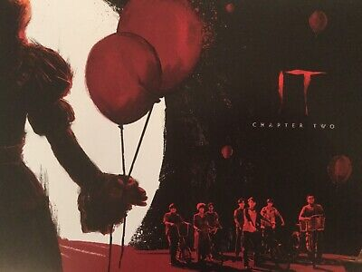 STEPHEN KING'S 'IT CHAPTER TWO' FILM MOVIE GLOSSY 11 x 8 INCHES POSTER