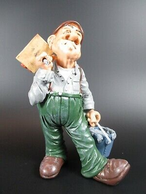 Maurer Bricklayer 15 cm,Beruf Profession Funny Figuren Kollektion,Neu