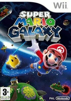 Wii - Super Mario Galaxy - Same Day Dispatched - Boxed - VGC - Nintendo