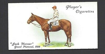 Player - Derby And Grand National Winners - #44 Jack Horner